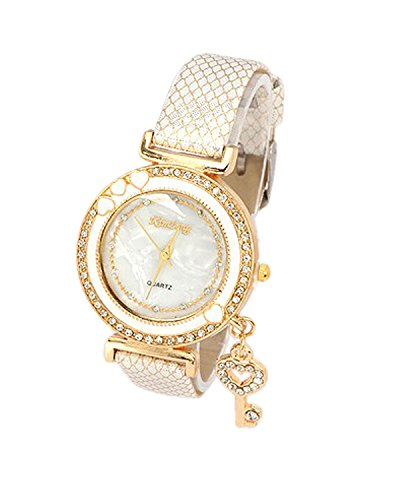 Young & Forever Valentine Gift Special Fashionista Key Charm Bracelet Watch For Women by CrazeeMania