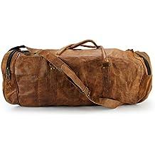 A.P. Donovan - borsa sportiva in pelle, anche per i viaggi, il campeggio, formazione, idoneità - compagna - bagaglio a mano, per gli uomini
