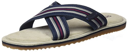 Geox u artie c, sandali punta aperta uomo, blu (navy), 45 eu