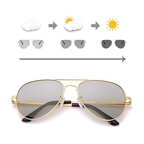 OSVAW Gafas sol polarizadas fotocromáticas Hombre