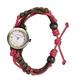 Kahuna KLF-0006L – Reloj analógico de Cuarzo para Mujer con Correa de plástico, Color Rosa