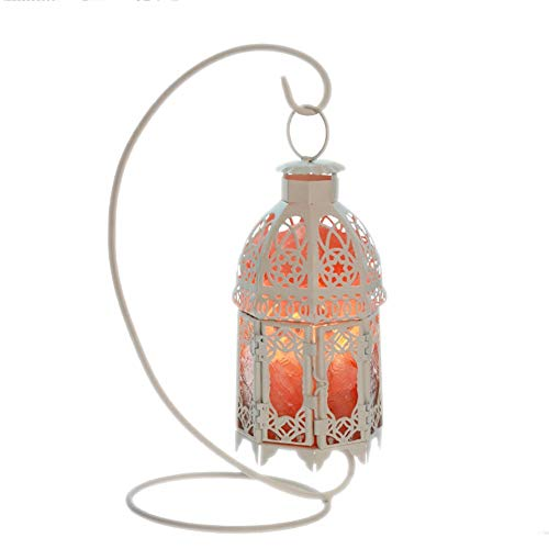YDENG Spaß Kristall Salz Lampe Schlafzimmer Nacht Nachtlicht Spaß Erwachsene Kreative Weihnachten Weiß 130 * 130 * 270mm (Weihnachts-spaß Für Erwachsene)