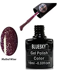 Bluesky UV/LED Gel Nail Polish, Mulled Wine, 10 ml (Requires drying under UV or LED Lamp)
