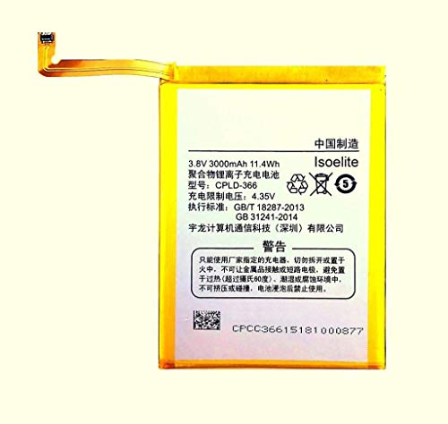 Shivoy Communication High Back up Compatible Mobile Battery for Coolpad Note 3 Mobile