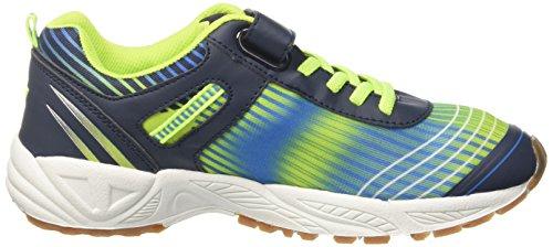 GEKA Herren Barney Vs Multisport Indoor Schuhe Blau (Marine/Blau/Lemon)