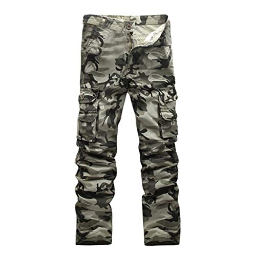 NPRADLA 2018 Männer Casual Camouflage Military Army Combat -