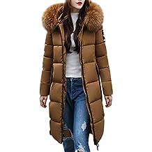 Familizo Femmes Hiver Manteau Chaud, Dans la Longue Veste en Duvet Femm,  Doudoune épaisse 654ac298a87