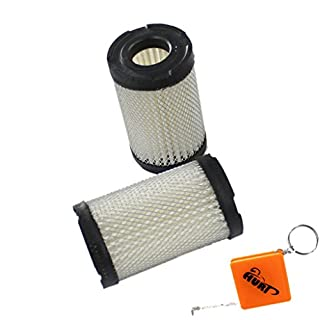 HURI Pack of 2 Replacement Tecumseh Qualcast / Atco Air Filter 35066 Fits petrol classic 35s , 43s / Atco Balmoral 14S , 17S