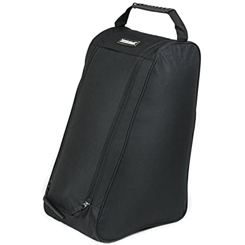 Nitehawk Wellington/Welly Boot Bag - Black, Fits Up To Size 13 Boots