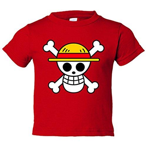 Camiseta niño One Piece - Rojo, 12-14 años