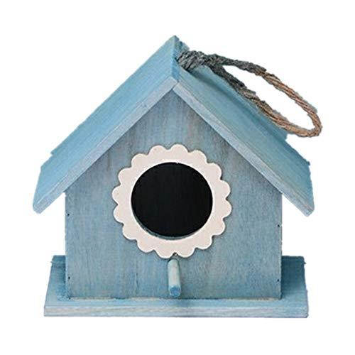Casa Del Pájaro Decoración De La Casa De Pájaros Al Aire Libre Artesanías Vintage Villa Al Aire...