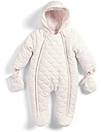 Mamas & Papas Baby Girls Snowsuit, Bodysuit