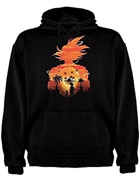Sudadera de NIÑOS Dragon Ball Son Goku Anime Vegeta Piccolo Akira Toriyama