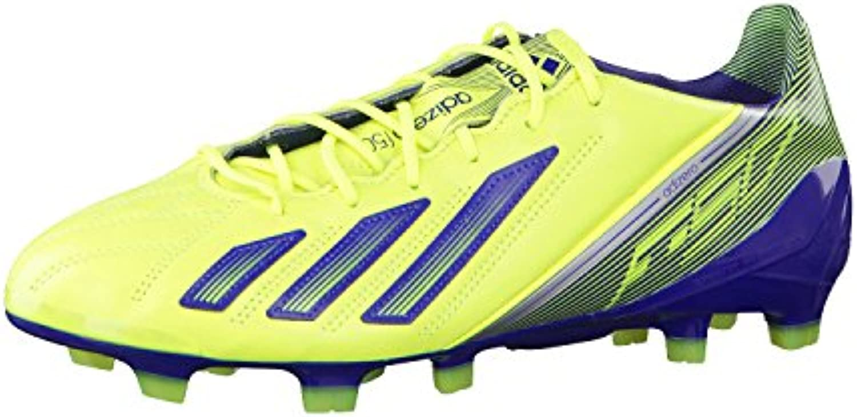 Adidas adizero F50 TRX FG LEA Q33847 Herren Fußballschuhe Gelb 40