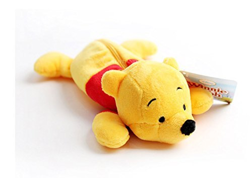 Disney Winnie l'ourson Stylo Trousse zippée Sac _ doux et mignon jouet Pochette de Disney