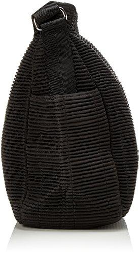 Tracolla Bogner Ladies Dorice, Nero (nero), 16x30x33 Cm Nero (nero)