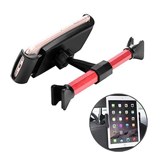 JaxTec Kfz-Kopfstützen-Halterung: Universell um 360 Grad drehbar, für alle 11,9-7,2 cm Tablets, Pad Pro 9.7, 10.5 Zoll, Air Mini, Nintendo Switch, Tab, Handyhalterung