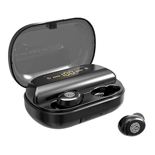 Sllowwa Bluetooth Kopfhörer Kabellos Noise Cancelling In Ear Ohrhörer Wireless Bluetooth 5.0 Headset mit 4000mAh Batterie Sport IPX57 Wasserdicht Mikrofon