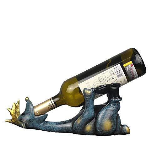 Weinflaschenhalter, Kreativ Hirsch Statue Handwerk Weinregal Weinhalter Weinständer...