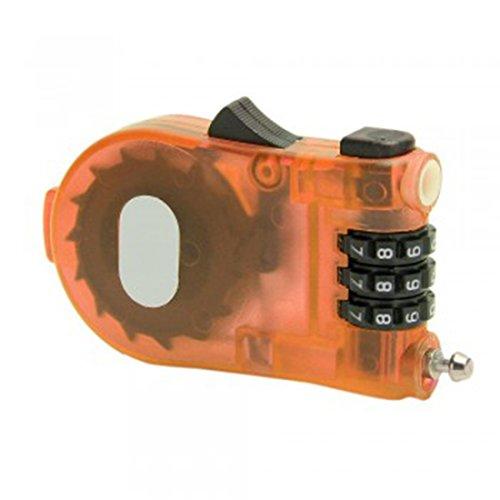 Preisvergleich Produktbild joyliveCY CY-Buity Fahrrad Kabel Helm Gepäck Kunststoff Zahlenschloss Sicherheit
