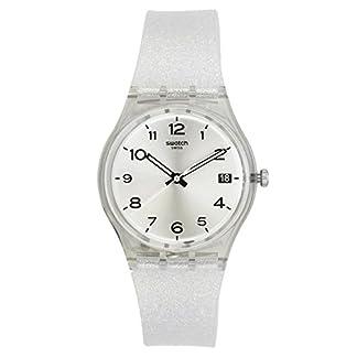 Swatch silverblush gris Dial Mens Reloj gm416C