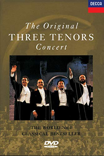 The Original Three Tenors Concert. The World No.1 Classical Bestseller Vortex Media Dvd