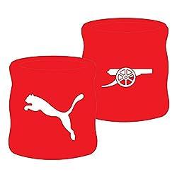 Puma Arsenal Cotton Sweatband, Osfm (Red/White)