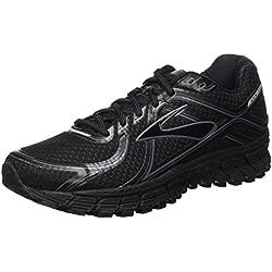 Brooks Adrenaline GTS 16 M, Zapatillas de Running para Hombre, Black/Anthracite, 42 1/2 EU