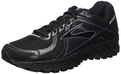 Brooks Adrenaline Gts 16 M Scarpe da corsa, Uomo, Multicolore (Black/Anthracite), 42.5
