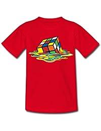 1dab9e544565d Spreadshirt Rubik s Cube en Train De Fondre T-Shirt Ado