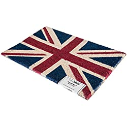 Felpudo Natural Bandera Reino Unido