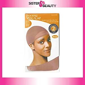 Beige Wig Cap by Donna Collection
