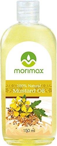 Morimax 100% natürliches kaltgepresstes Senföl für Ihr Haar | Natural Mustard Oil 150ml