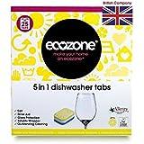 Écozone 5 en 1 Lave-vaisselle comprimés Lemon (25) - Paquet de 6