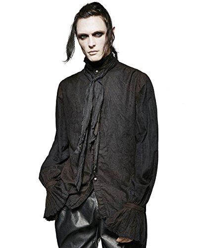 Top negro gótico