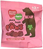 Bear Fruit Paws Strawberry & Apple 18 x 20g