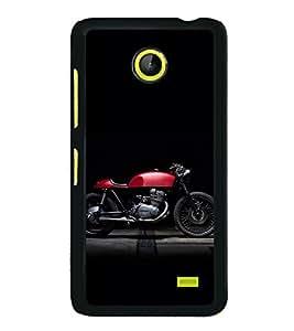 ifasho Designer Back Case Cover for Nokia X2 (Deviant Art Garmin Car)