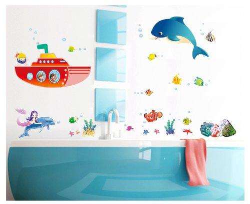 instylewall-home-decor-mural-vinyl-wall-sticker-sea-world-happy-fish-coral-kids-nursery-room-wall-ar