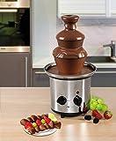 Clatronic SKB 3248 Schokoladenbrunnen, INOX, für Jede Schokolade und Karamell mit Schmelz-und Fließfunktion - 5