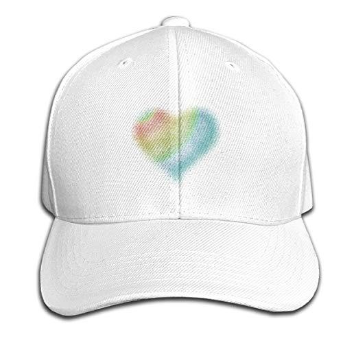 Osmykqe Heart Love Unisex Sommer Sonnenhut einstellbar lässig Golf Tennis Caps
