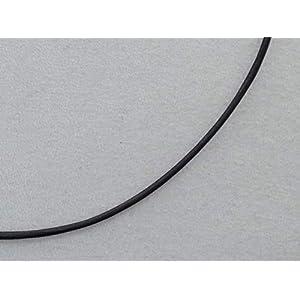Schwarzes Lederband 925 Silber Verschluss 1,5mm