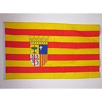 BANDERA de ARAGÓN 150x90cm - BANDERA ARAGONESA 90 x 150 cm - AZ FLAG