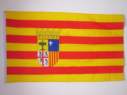 Preisvergleich Produktbild AZ FLAG Flagge ARAGONIEN 150x90cm - ARAGONIEN Fahne 90 x 150 cm - flaggen Top Qualität