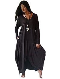 LOTUSTRADERS Damen Kaftan Kleid