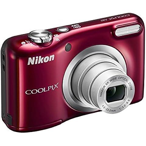 Nikon Coolpix A10 Fotocamera Digitale Compatta, 16 Megapixel, Zoom 5X,