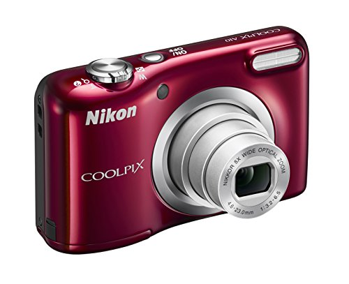 Nikon Coolpix A10Digitalkamera, 16Megapixel, 5-Fach Zoom, 7,1 cm (2,8 Zoll) LCD-Display, HD
