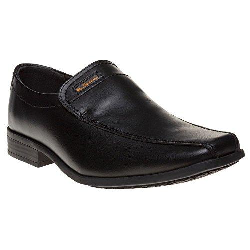 Ben Sherman Dexi Slip Garcon Chaussures Noir