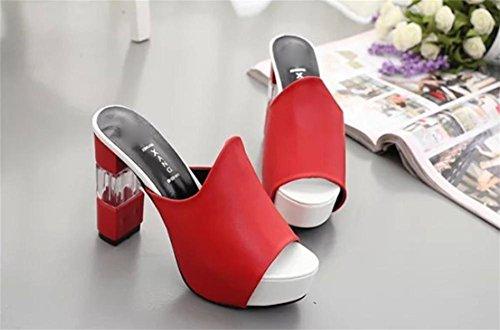 pengweiSandali da donna estate tacchi alti di spessore con le scarpe da donna 1