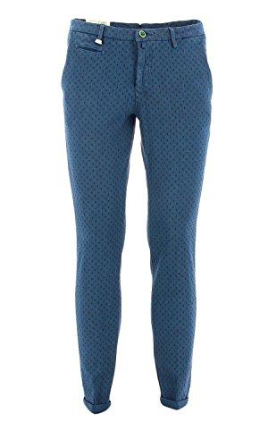 782 ALAN41 Barbati Pantalone chino Blu 52 Uomo