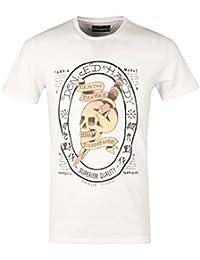 Ed Hardy - T-shirt - Homme blanc Skull Honor | White